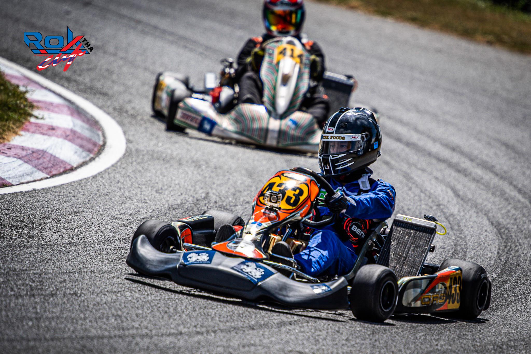 Rok Cup Thailand 2019 Round 3 At Bira kart, Chonburi