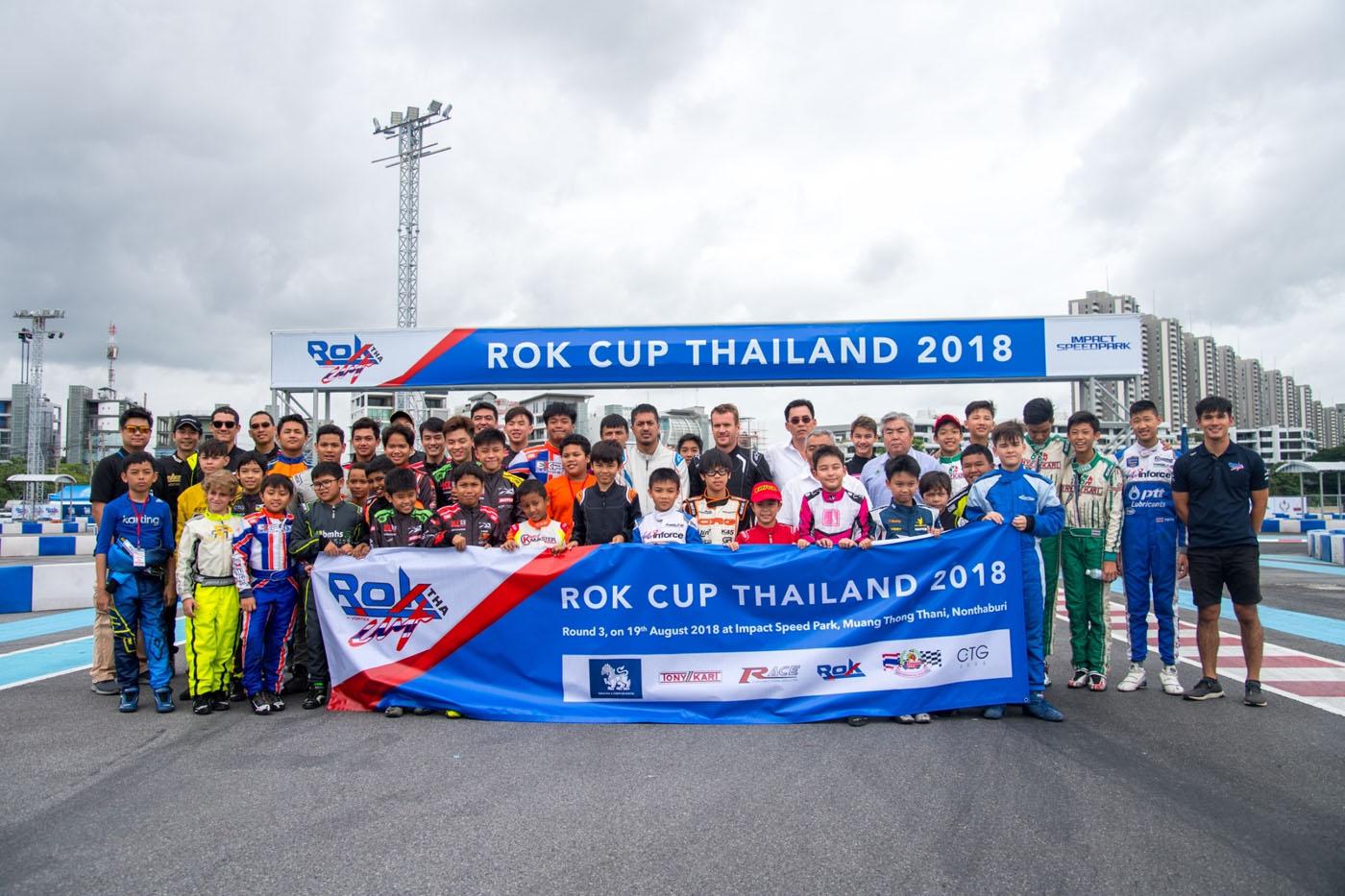 Rok Cup Thailand 2018 round 3 +Asia Zone