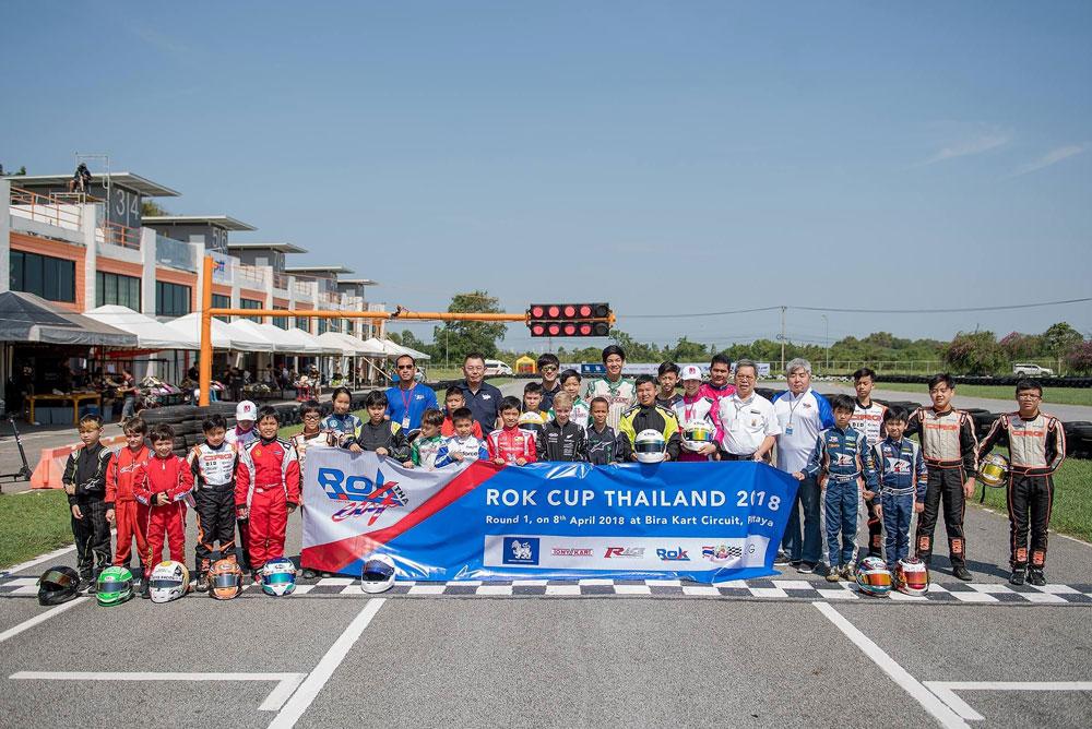 Rok Cup Thailand 2018. Round 1 At Bira circuit
